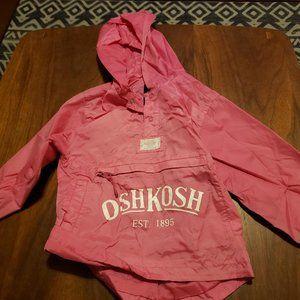 OshKosh windbreaker - pink, 4/5